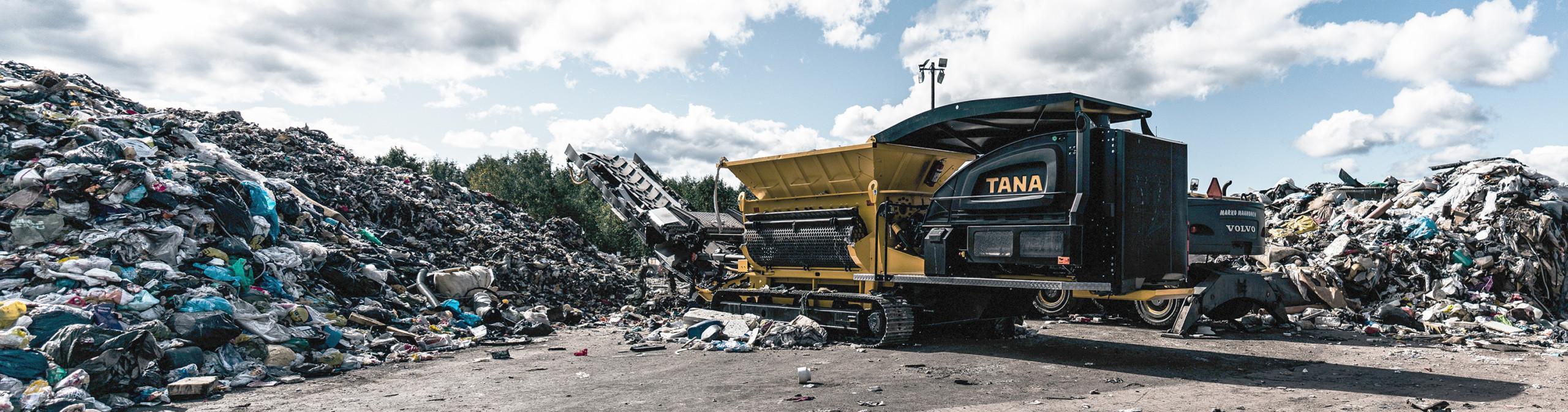 Commercial waste in Saarijarvi
